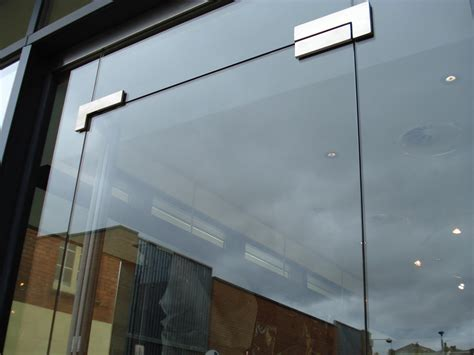 Glass Door For Shop Toughened Glass Canon Aluminium Fabricators