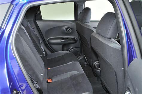 nissan juke interior back seat nissan juke performance autocar