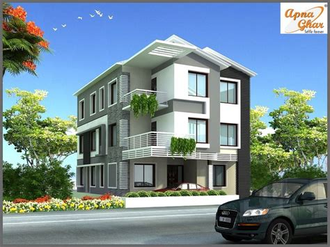 floor plan for modern triplex 3 floor house click on 11 bedroom modern triplex 3 floor house design area