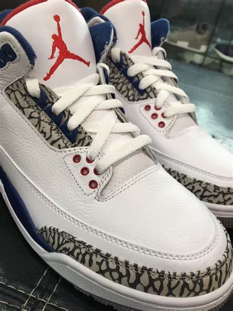 True Blue air 3 og true blue 2016 release date sneaker bar