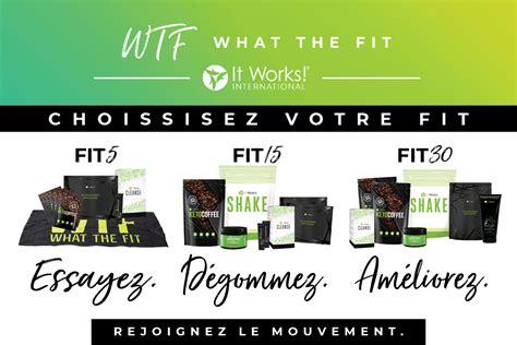 Fit Pack qu est ce que le mouvement it works 174 what the fit
