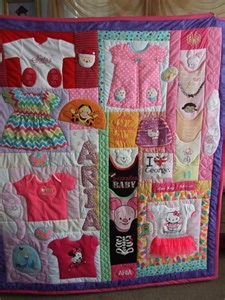 baby keepsake quilt link below is to a company that will