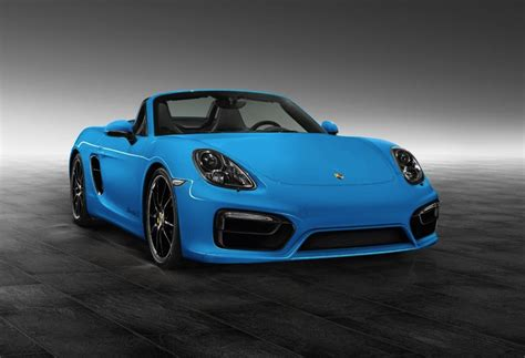 porsche exclusive accessories for the boxster s revealed