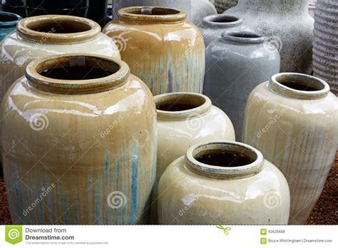 large ceramic urns stock photo image 63626688