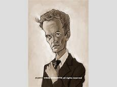 Caricature-Neil Patrick Harris By vim_kerk   Famous People ... Flying Pig Drawing