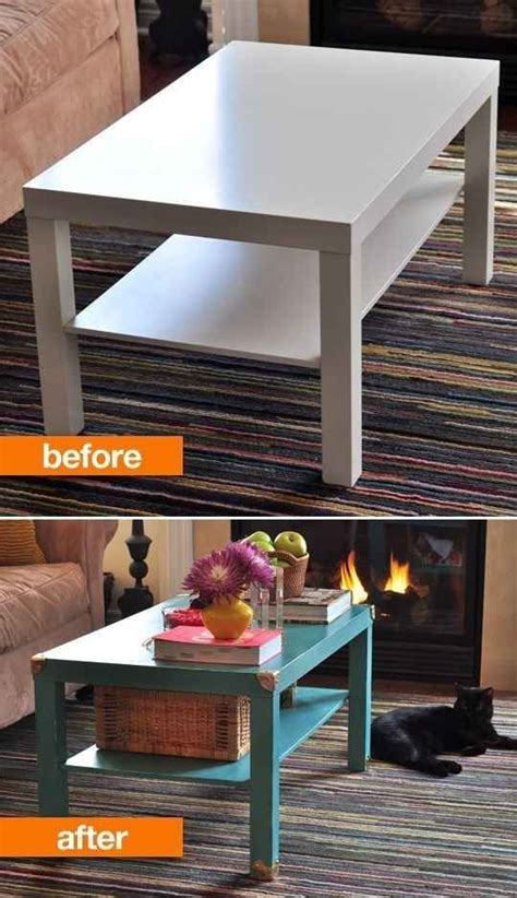 lack coffee table hack 37 cheap and easy ways to make your ikea stuff look