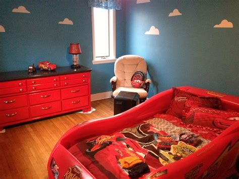 Bedroom Ideas Car Interior Paint Ideas Disney Cars Bedroom | love paint idea for dresser black n red brodyn s