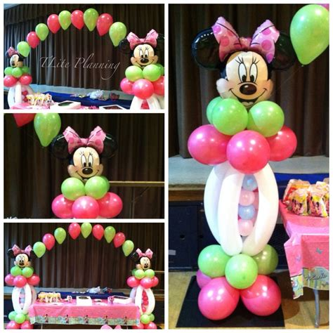 Minnie Mouse Balloon Decoration by Minnie Mouse Balloon Decorations Minnie Mickey