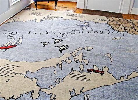 world map rug home decor