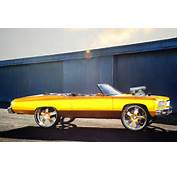 1975 Chevy Caprice Convertible Donk On 1971 Impala