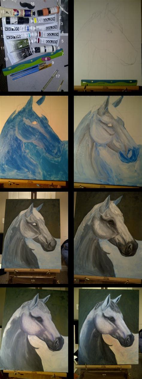 watercolor horse tutorial horse painting tutorial by turquoise skies on deviantart