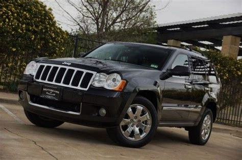 2008 Jeep Grand Will Not Start Buy Used 2008 Jeep Overland Navigation Sunroof