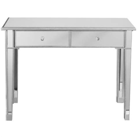 Mirrored Table L Southern Enterprises Montrose 2 Drawer Console Table In Painted Silver Cm9163r