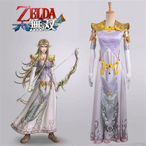 ebay zelda the legend of zelda hyrule warriors princess zelda cosplay