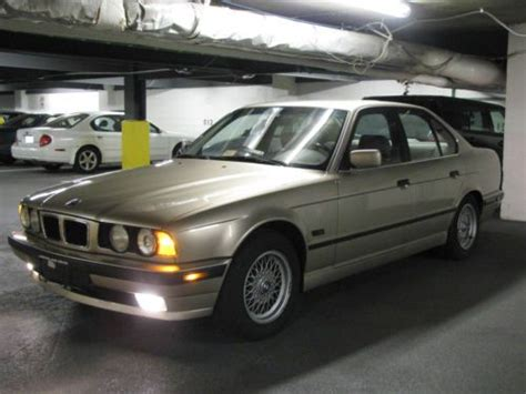 car owners manuals for sale 1995 bmw 5 series electronic throttle control purchase used bmw e34 1995 525i 5 speed manual mint condition in silver spring maryland