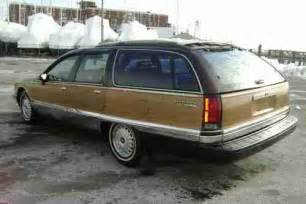 93 Buick Roadmaster Specs Sell Used 1993 Buick Roadmaster Estate Wagon V8 Auto Low