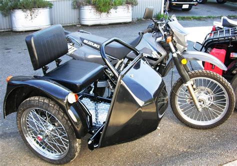 Sidecar Suzuki Motorcycle Enduro Sidecars