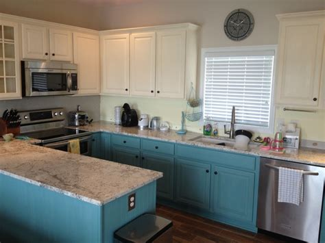Sloan Paint On Kitchen Cabinets by Finally Finished Chalk Paint Kitchen Cabinets