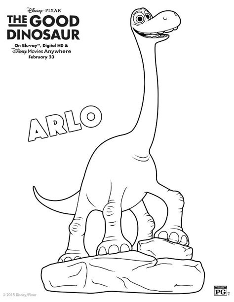 coloring page the good dinosaur disney the good dinosaur arlo coloring page mama likes this