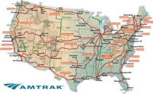 Amtrak Map Pdf by Map Of All Amtrak Routes Pictures To Pin On Pinterest