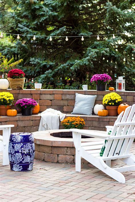 Our Fall Backyard Shining On Design Fall Backyard Ideas