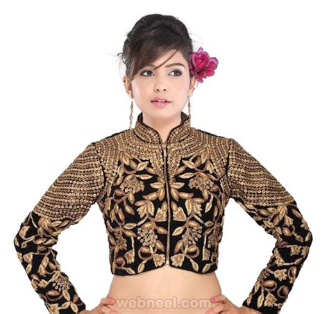 High Neck Blouse In by 50 Different Types Of Blouse Designs Patterns Designer