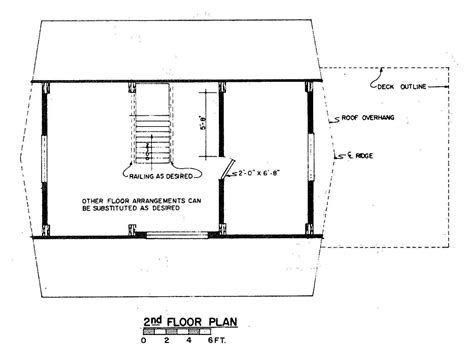 a frame house floor plans free a frame house plan with deck