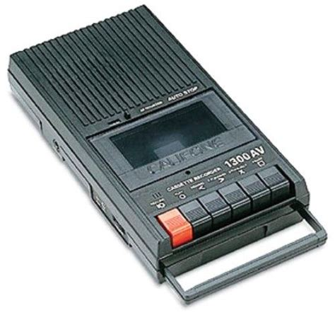 cassette recorder a time ago in a galaxy far far away