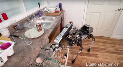 navigate to my house there s a robot dog that will clean your house kiss 92 5