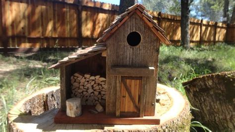 Handcrafted Birdhouses - handmade bird house