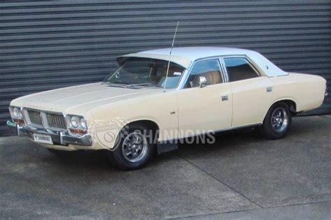 Sold: Chrysler CM Valiant V8 Sedan Auctions   Lot 6   Shannons