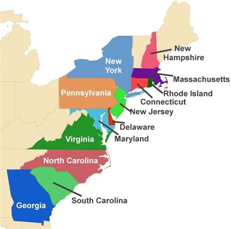 map of colonies in america search results for 13 colonies calendar 2015