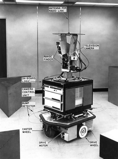film robot mobil ai center shakey
