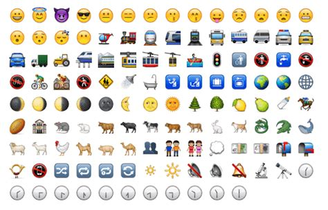emojis from iphone to android image gallery iphone emoji on android