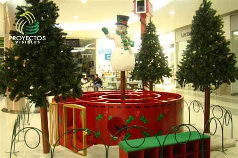 escenarios de navidad decoracion  gran escala