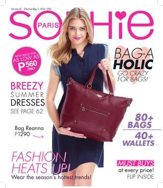 Coarraze Bag catalog 87 may edition philippines by