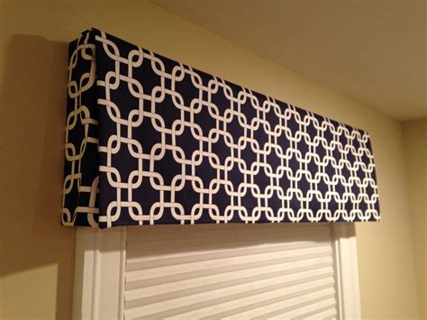 curtain box valance diy box valance no sew around the house pinterest