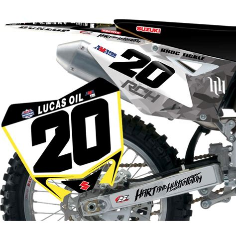 Rch Suzuki Graphics Stellar Mx 2013 Rch Suzuki Team Outdoors Custom