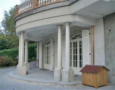 Portico A Colonne by Montanaro Torino S R L Balconi E Balaustre In Cemento