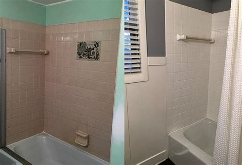 Bathroom Tile Refinishing Kits Rust Oleum Tub Tile Refinishing Kit Review Weve Tried