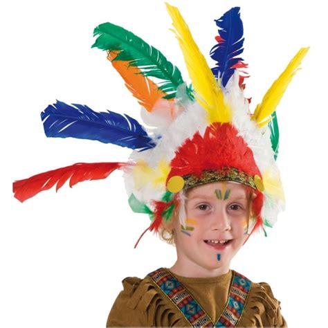 coiffe indienne enfant indien