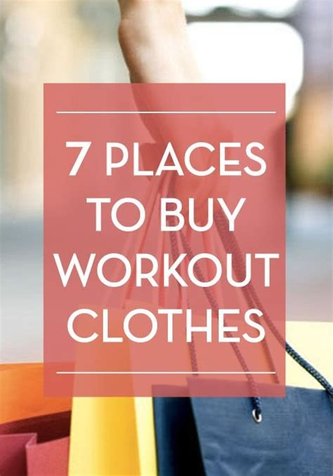 7 Affordable To Shop At by 7 Places To Shop For Affordable Workout Clothes Workout