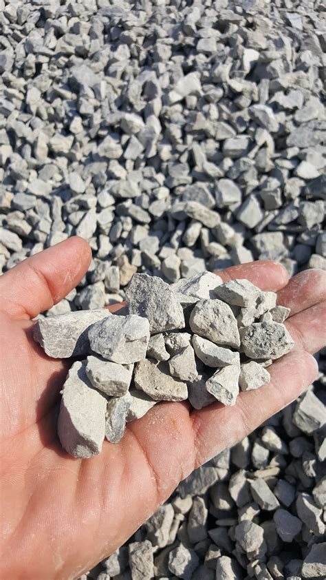 Crushed Rock Weight Per Cubic Yard 1 Crushed Limestone Birch Tree Bark