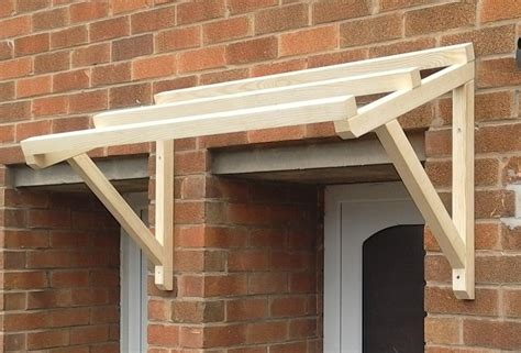 Porch Canopy Timber Front Door Canopy Porch Made Porch 120cm Ebay