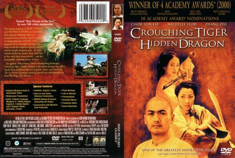 Dvd Crouching Tiger crouching tiger scan dvd scanned covers 56crouchingtigerhiddendragon
