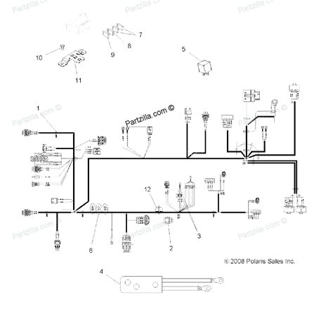 2009 polaris sportsman 500 ho wiring diagram k