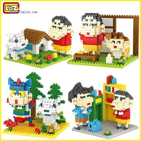 Mainan Loz Block Model Shinchan loz blocks crayon shin chan