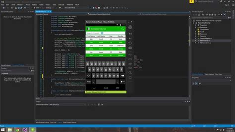 xamarin tutorial android youtube xamarin android tutorial 15 searching a listview using
