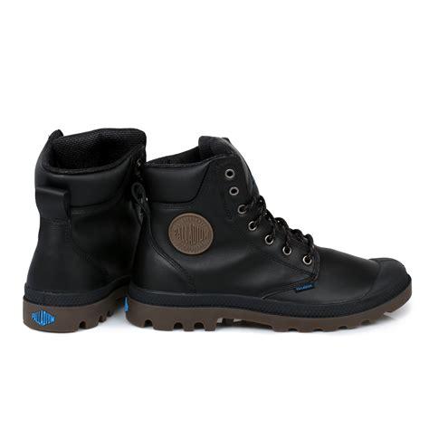 palladium boots mens palladium black waterproof sport cuff mens boots size 7 11