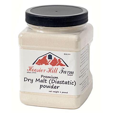 Diastatic Malt Powder 1 Lb hoosier hill farm malt diastatic baking powder 1 5